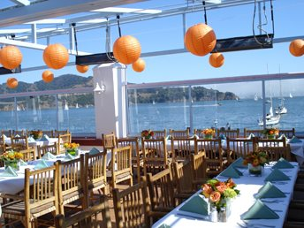 Guaymas restaurant patio with waterfront view