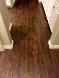 """Saddle"" 12mm Hybrid Laminate Flooring"