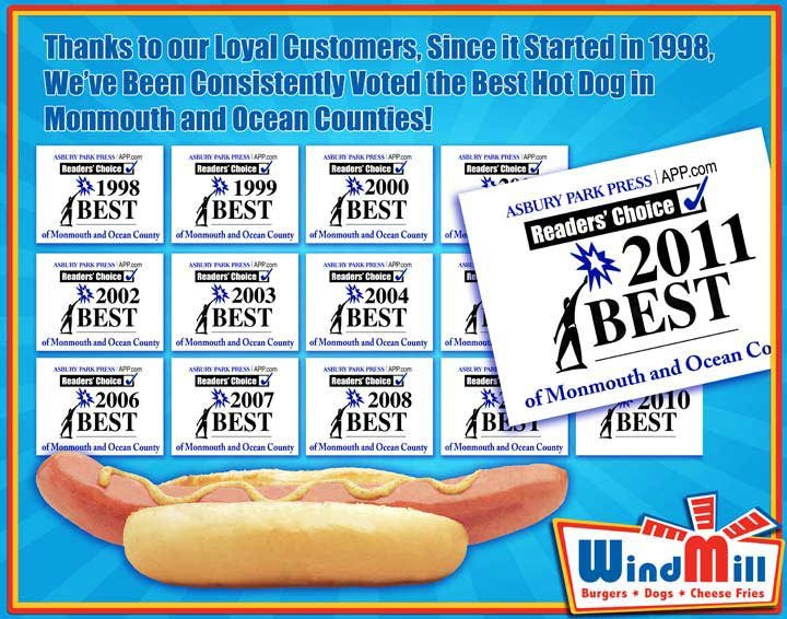 Coupons At Windmill Hot Dog In Long Branch