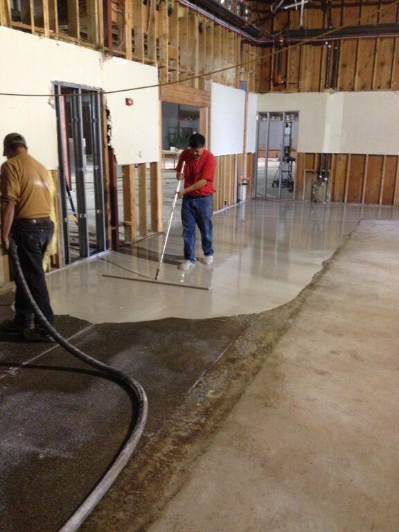 Leveling Floor For Tile >> Floor Leveling - Janes Gypsum Floors