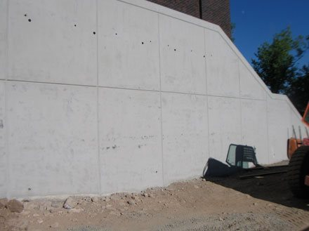Architectural Walls Solid Concrete Walls