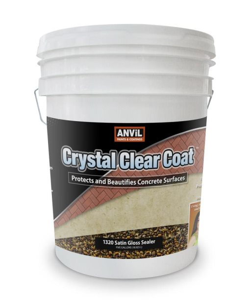 Clear Coating Cement : Clear concrete sealers anvil paints coatings inc